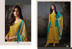 Moubani - Bemberg Silk Designer Salwar Suit With Embroidery and Sarvoksi Work Designer Suits Online, Designer Salwar Suits, Womens Clothing Stores, Clothes For Women, Pakistani Salwar Kameez, Ethnic Looks, Silk Top, Party Wear, Krishna