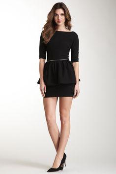 Twenty8Twelve, Meyers Zip Peplum Dress
