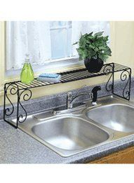 Amazon.com: Expandable Over The Sink Shelf: Home & Kitchen