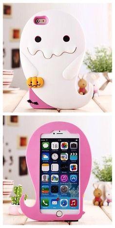 Cute whale silicone phone case