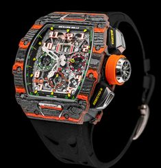 Richard Mille and McLaren Launch Exclusive $192K Timepiece | American Luxury