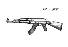 Image result for Military Gun Drawings