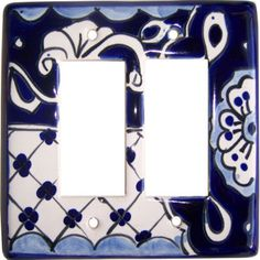#cobalt #blue #plug #switch #wallplate  #myrustica #rusticahouse