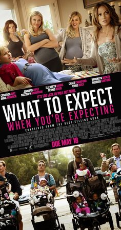 Directed by Kirk Jones.  With Cameron Diaz, Matthew Morrison, J. Todd Smith, Dennis Quaid. Follows the lives of five interconnected couples as they experience the thrills and surprises of having a baby, and realize that no matter what you plan for, life does not always deliver what is expected.
