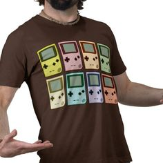 Funky gamer shirt from Zazzle.com