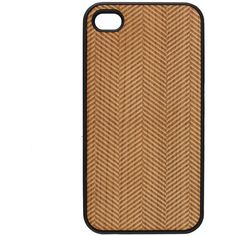 Woodd Cover I-phone 4s weave ($35) ❤ liked on Polyvore featuring accessories, tech accessories, phone cases, phone, case, iphone case, multi, iphone cover case, wooden iphone case and wood iphone case