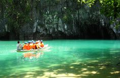 Puerto Princesa Subterranean River National Park (entrance) - This is a protected area about 31.06 miles (50 km) from the city center of Puerto Princesa, Palawan