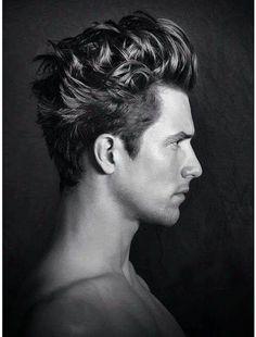 Man hairlook.