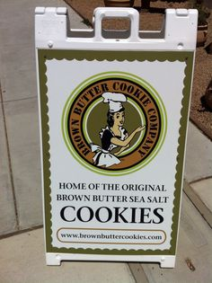 Oh my .....these cookies are wonderful......and famous!!!!   The adorable business is owned by three sisters!