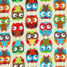 Alice Kennedy - Bright Owl - Bright Owls in Cream