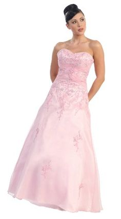 Ball Gown Strapless Formal Prom Wedding Dress « Dress Adds Everyday