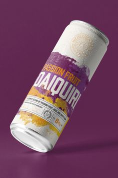 A simple blend of passion fruit juice & white rum.  Available in 6 cans or our 24 can party pack.  Buy online now!  #nichecocktails #cocktails #diquiri #cannedcocktails Cocktails In A Can, Daiquiri Cocktail, Passion Fruit Juice, Party Packs, Vegan Friendly, Rum, Canning, Simple, Rome