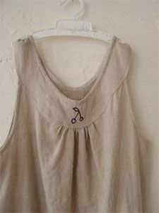 Another one I would like to sew but probably not in linen.