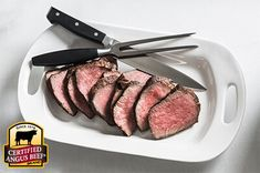 Peppered Ball Tip Roast: Taste the difference. There's Angus. Then there's the Certified Angus Beef ® brand. Beef Sirloin Tip Roast, Sirloin Tips, Roast Recipes, Dinner Recipes, Beef Marinade, How To Cook Beef, Angus Beef, Other Recipes, Easy Cooking