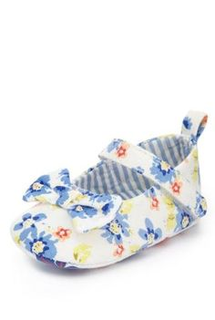 Floral Pram Shoes - Marks & Spencer