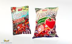 Packet of crisps Ccrunchips by SilverCox.deviantart.com on @deviantART