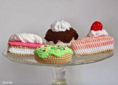 Sietske's Hobby's: aardbei gebakje