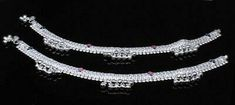 Silver Anklets, Silver Jewelry, Anklet Jewelry, Pairs, Gemstones, Jewels, Bracelets, Gold, Women