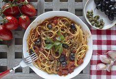 Talianske špagety s paradajkami