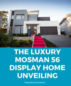 The luxury Mosman 56 display home at the Super Centre, Parklea is open! We captured all the special moments of our red carpet launch event, and inside this incredible home. See the video and photos here! #ClarendonHomesNSW #ClarendonHomes
