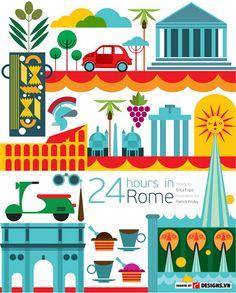 Du lịch vòng quanh thế giới với 32 poster cực thú vị