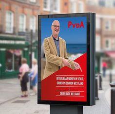#graphicdesign #corporateidentity #huisstijl #poster #advertising #politiek #gr2018 #pvda #doordaan