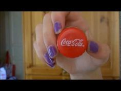 Sheer Genious.. Why didn't ever think of this! DIY: coca cola lip gloss container out bottle tops of 2 liters, 16 or 24 oz, 1.5 liters, or 1 liter bottles..