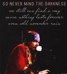 Guns N' Roses - November Rain <3