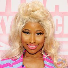 Nicki Minaj 2012 Hair Color
