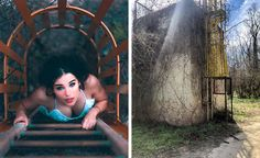 Photos Proving You Can Take an Awesome Picture Even in a Trash Can Portrait Photography Poses, Creative Photography, Amazing Photography, Art Photography, Epic Photos, Cool Photos, Beautiful Pictures, Brick Colors, Great Backgrounds