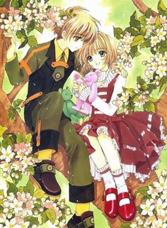 Card Captor Sakura (Syaoran and Sakura)