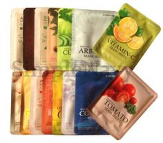 Korean Beauty Essence Facial Mask Sheet, Moisture Face Mask Pack 8pcs  -I actually want to try this out.