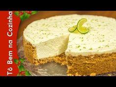 CHEESECAKE DE LIMÃO - Receita de cheesecake de limão (Episódio #94) - YouTube Healthy Dessert Recipes, Gluten Free Desserts, Easy Desserts, Cake Recipes, Cheesecake Facil, Cheesecake Speculoos, Cheesecakes, Chocolate Desserts, Yummy Drinks