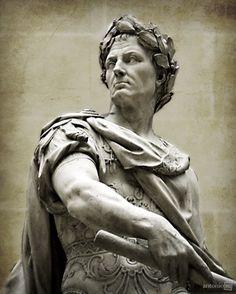 Julius Caesar by Nicolas Coustou ~ Musée du Louvre, Paris, France Ancient Rome, Ancient Art, Ancient History, Roman Sculpture, Sculpture Art, Roman History, Art History, Statues, Gaule Romaine