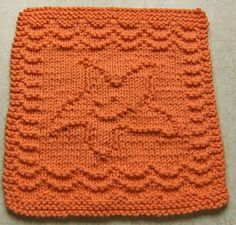 Baby Washcloths. Free knitting Patterns.