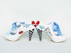 handpainted customized Vegas wedding shoes :) https://www.etsy.com/shop/KUKLAfashiondesign?section_id=11507157&ref=shopsection_leftnav_3