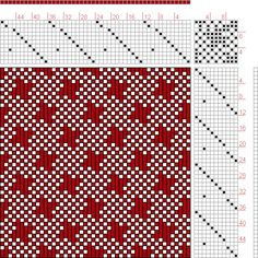 Hand Weaving Draft: Forward, Figure 188, Donat, Franz Large Book of Textile Patterns, 11S, 11T - Handweaving.net Hand Weaving and Draft Archive