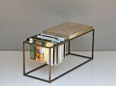 joshua howe design wf magazine side table