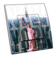 Interrupteur décoré Villes - Voyages / New York 10 simple - Decorupteur