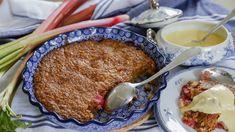 Healthy Vegan Desserts, Vegan Dessert Recipes, Swedish Recipes, Sweet Recipes, Cookie Desserts, Chocolate Desserts, Kitchen Recipes, Baking Recipes, Boston Cream Pie
