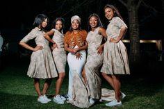 Modern Tswana Wedding Xhosa, Bridesmaid Dresses, Wedding Dresses, Weddings, Modern, Inspiration, Fashion, Bridesmade Dresses, Bride Dresses