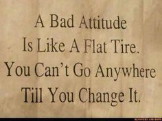 Attitude adjustments