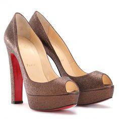 4e9a22e55f1 43 Best Christian Louboutin Peep Toe images in 2013   Shoes ...