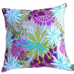 Pink Floral Abstract Cushion Cover from $15.90