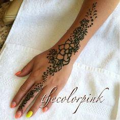 Henna tattoo's by Marissa at Leso'nails on Oxnard