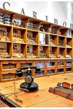 Caribou eyewear shop Paris