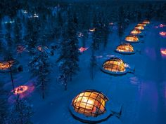INVERNO 2015/2016: Lapponia Finlandese, SAARISELKA – KAKSLAUTTANEN resort, tra chalet e igloo di vetro – tour individuale | Le Vie del Nord