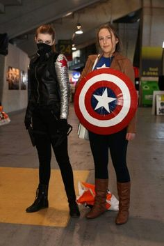 Captain America and Winter Soldier cosplay  ) 82d2643d1967