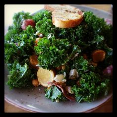Kale Salad Photo by @candacenicole3 on Twitter