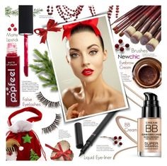 """""""Newchic style - Beauty"""" by mymilla ❤ liked on Polyvore featuring beauty"""